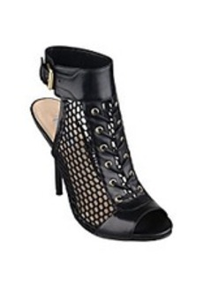 "Guess ""Kallis"" Lace-up Mesh Shooties - Black"