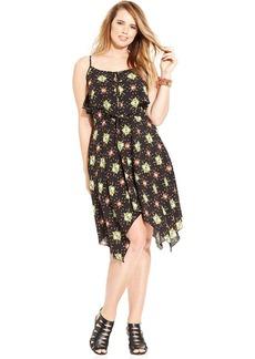 Ruby Rox Plus Size Sleeveless Printed Dress