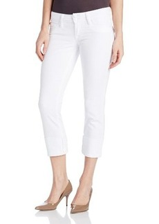 Hudson Jeans Women's Ginny Denim Crop In White Jeans