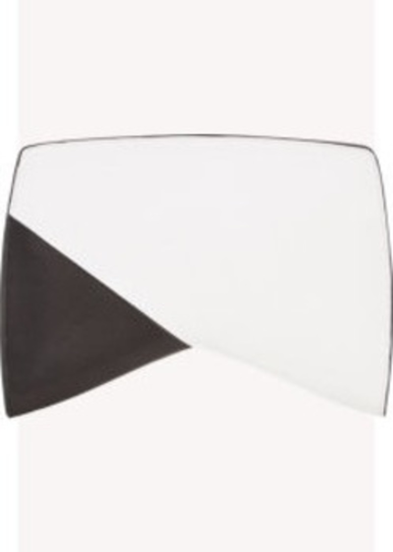 Narciso Rodriguez Colorblock Geometric-Shaped Clutch