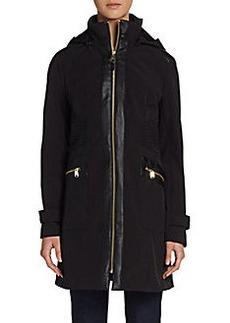 Via Spiga Stand-Collar Zip Coat