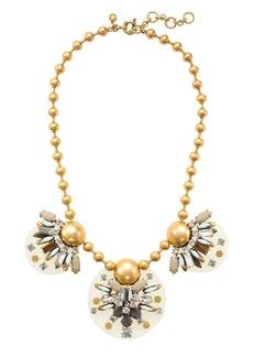 Floating gems necklace