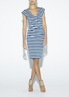 Burke Striped Jersey Dress