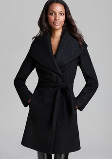 Calvin Klein Coat - Lux Boiled Wool Wrap