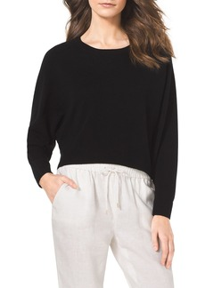 MICHAEL Michael Kors Cropped Cashmere Sweater