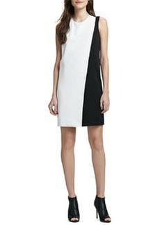 Theory Randla Two-Tone Crepe Dress (Stylist Pick!)