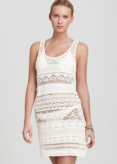 Nanette Lepore Swimsuit Cover Up - Crochet Tank Dress