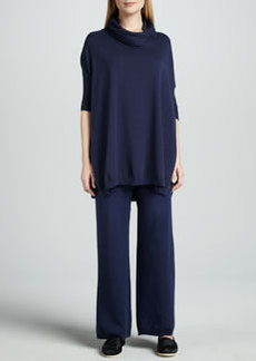 Joan Vass Wide-Leg Knit Pants