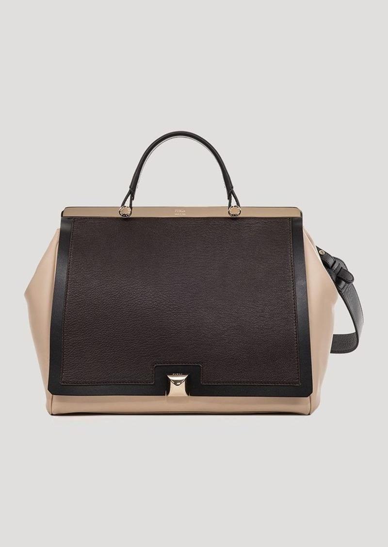 furla furla satchel cortina large top handle handbags shop it to me. Black Bedroom Furniture Sets. Home Design Ideas