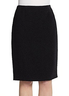Calvin Klein Collection Basketweave Pencil Skirt