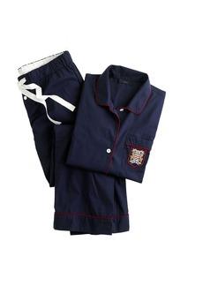 Pajama set with pocket crest