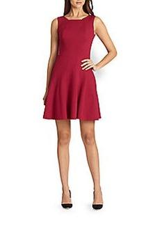 Elie Tahari Penbrook Fit-And-Flare Dress