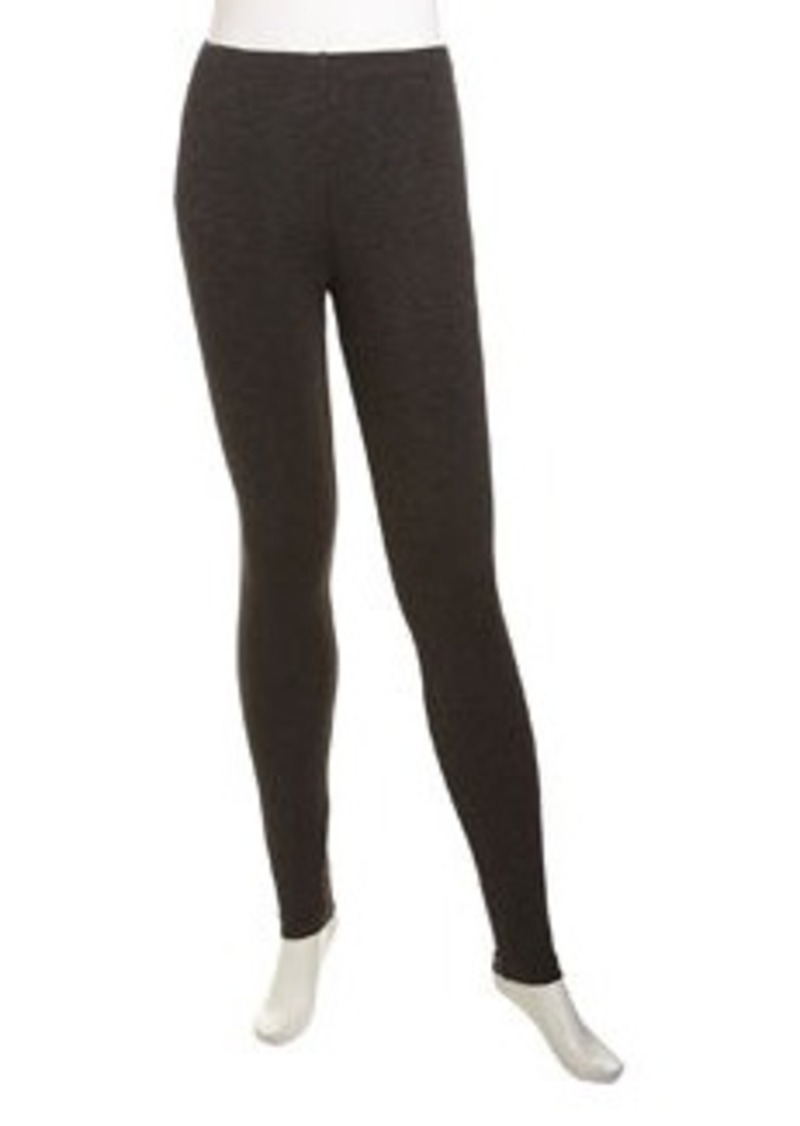 Isda & Co Stretch Jersey Leggings, Charcoal