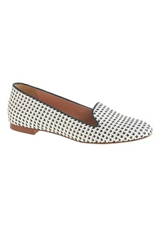 Cleo woven leather loafers