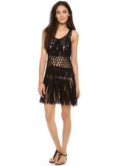 Nanette Lepore Macrame Cover Up Dress