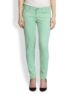 AG Adriano Goldschmied Colored Stilt Cigarette Jeans