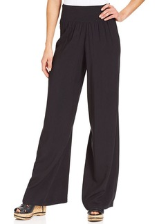 Style&co. Petite High-Rise Wide-Leg Pants