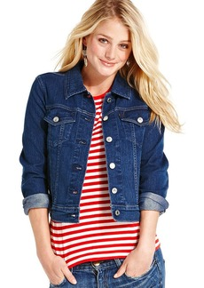 Levi's® Juniors' Authentic Trucker Valley Blue Wash Denim Jacket