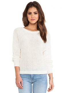 Joie Avici Linen Sweater in Ivory