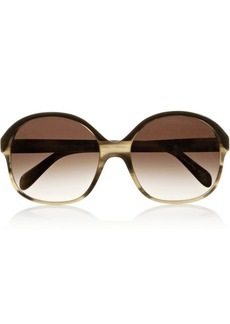 Oliver Peoples Casandra round-frame acetate sunglasses