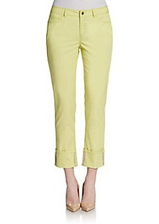 Lafayette 148 New York Cuffed Cropped Pants