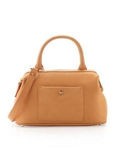 Etienne Aigner Epic Leather Satchel/Shoulder Bag, Cuoio
