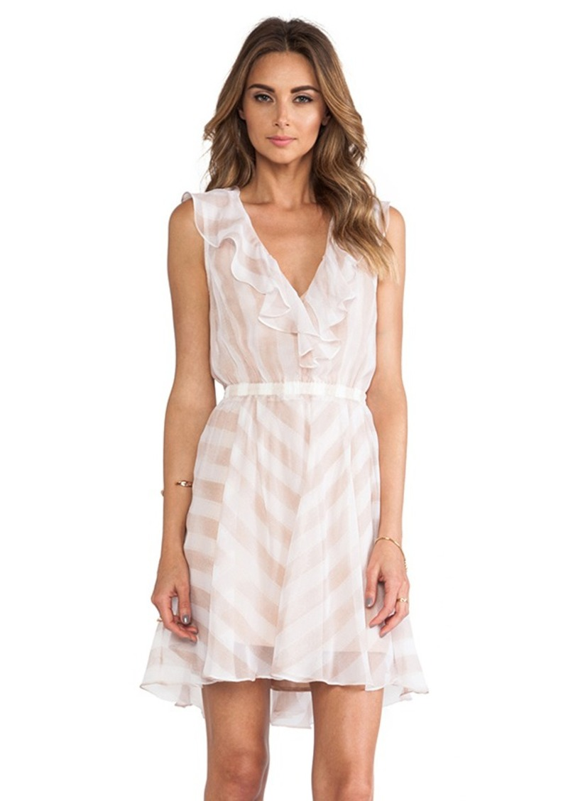 Nanette Lepore Subtle Hint Dress in Blush