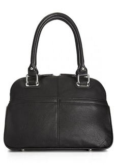 Tignanello Perfect Pockets Leather Satchel