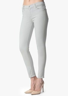 "The Slim Illusion Ankle Skinny in Pale Grey Sandwashed Twill (28"" inseam)"
