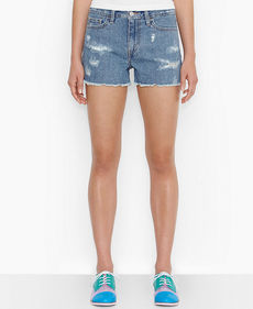 Levi's® Juniors' Destroyed Cutoff Shorts