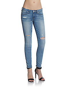 Genetic Denim Shya Cropped Cigarette Jeans