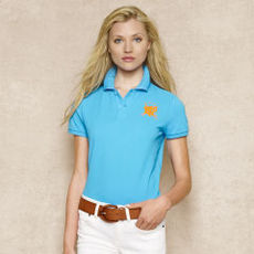 Skinny-Fit Monogram Polo