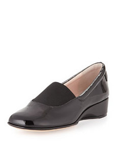 Taryn Rose Kendall Patent Loafer, Black