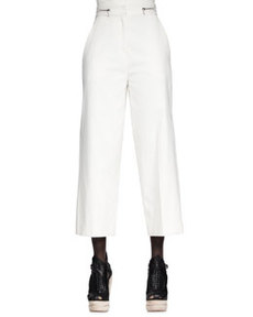 High-Waist Cropped Pants   High-Waist Cropped Pants