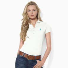 Skinny-Fit Pima Cotton Polo