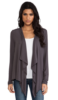 Michael Stars Cascade Cardigan in Charcoal