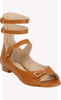 Chloé Triple Buckle-strap Sandals