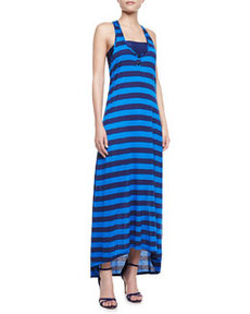 Marcel Striped Racerback Maxi Dress   Marcel Striped Racerback Maxi Dress