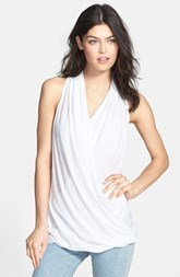 James Perse Surplice Racerback Tank