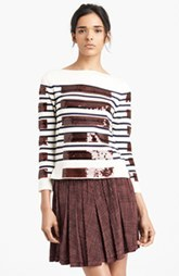 MARC JACOBS Sequin Breton Stripe Sweater