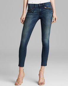 rag & bone/JEAN Jeans - RBW 23 Crop in Oil Stain