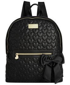 Betsey Johnson Quilted Backpack