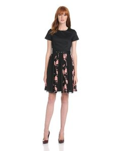 French Connection Women's Vine Bloom Dress