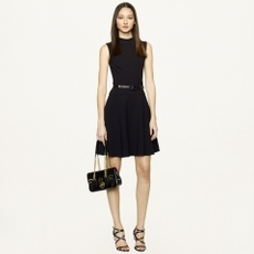 Fit-and-Flare McClure Dress