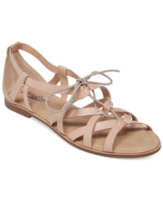 Lucky Brand Women's Dawnna Caged Flat Sandals