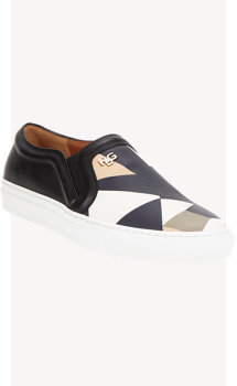 Givenchy Mosaic-pattern Slip-on Sneakers