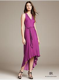 BR Monogram Belted Patio Dress