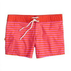 Sailor-stripe board short