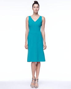 Michael Kors Sleeveless Asymmetric Panel Dress