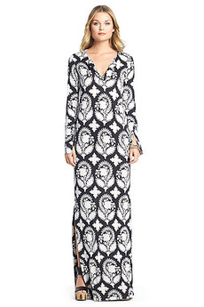 Mazel Silk Jersey Maxi Dress